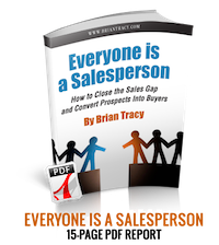 Everyone is a Sales Person