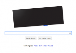 Google participating in SOPA blackout