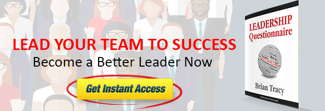 Lead your team to success with the leadership questionnaire by brian tracy