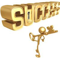 success factors career goals hard work