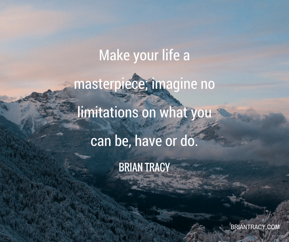 A Quote About Life Magnificent 36 Motivational And Inspirational Quotes  Brian Tracy