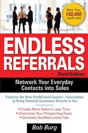 best entrepreneur books bill burg endless referrals