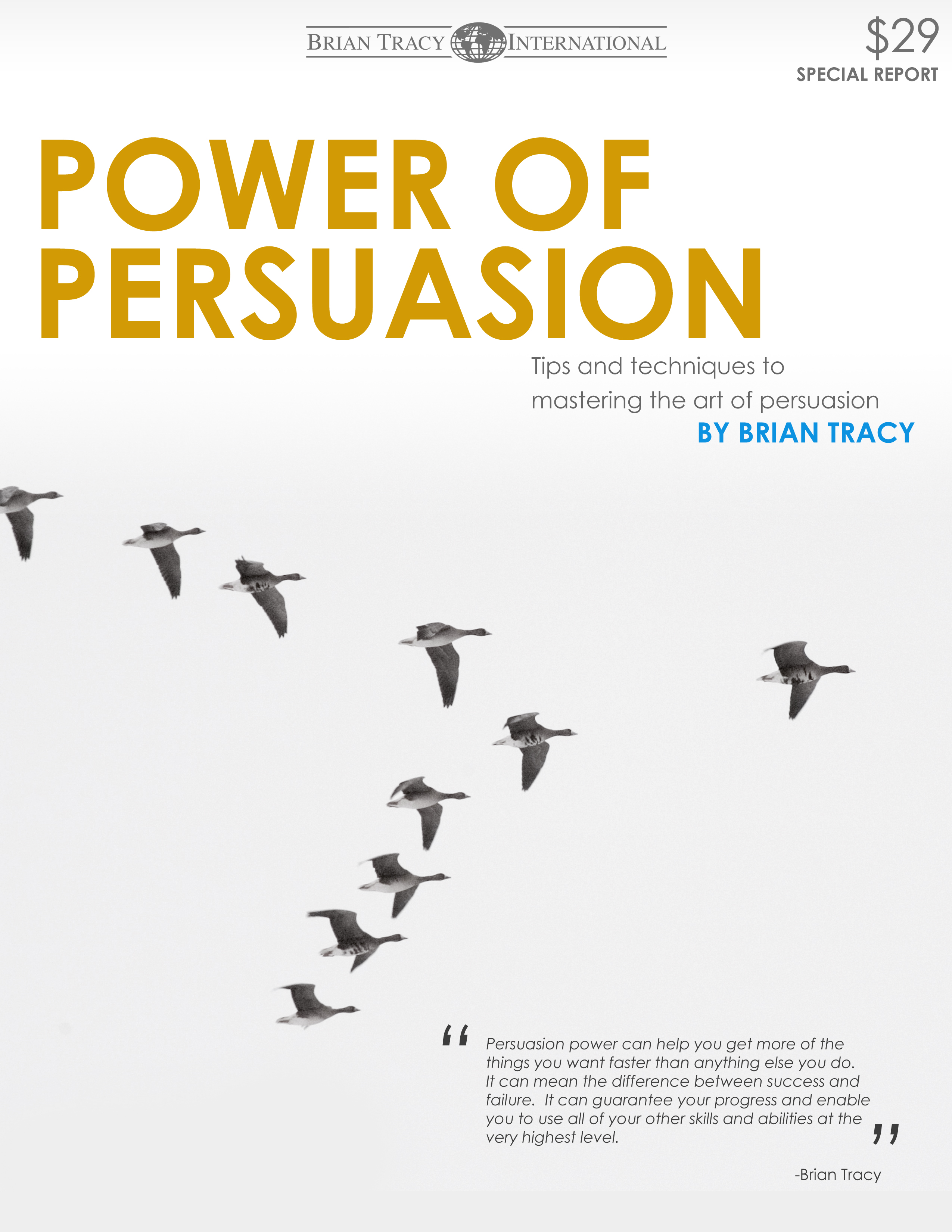 Power of Persuasion