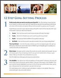Goals PDF Summary - Brian Tracy