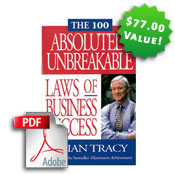 The 100 Absolutely Unbreakable Laws of Business