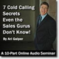 10 FREE Cold Calling Secrets – Ari Galper's Unlock The Game