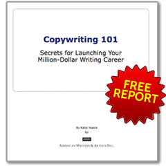 FREE REPORT: How You Can Make a Very Good Living As a Writer