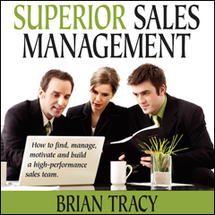 Superior Sales Management - Brian Tracy (Compact Disc)