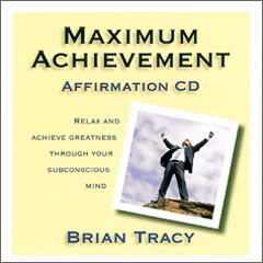 Maximum Achievement Affirmation CD