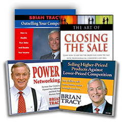 Brian Tracy is one of the world's most widely known business speakers and a leading authority on the development of human potential and personal effectiveness. He addresses more than , people around the world each year, on the subjects of strategy, management, hiring, and motivating people. More about Brian Tracy.