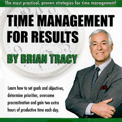 Time Management for Results - Brian Tracy (Compact Disc)