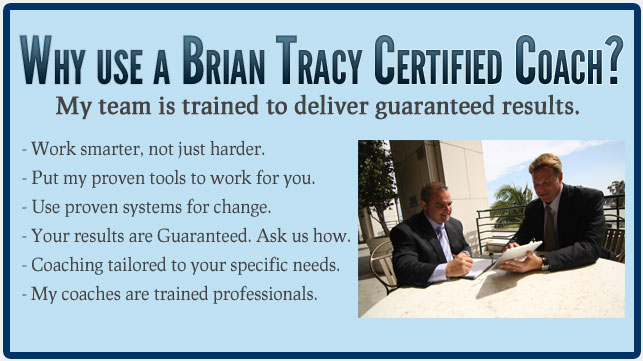 Brian Tracy Certified Coach